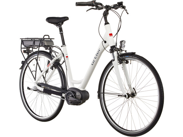 Ortler Wien E-citybike Wave 3-speed hvid | City